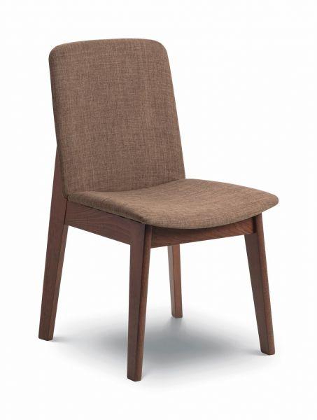 Julian Bowen Kensington Brown Walnut Dining Chair