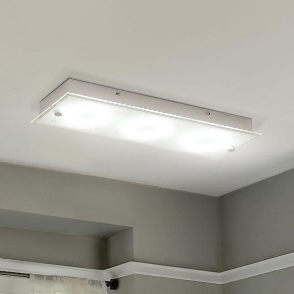 LED Rectangular Lamp with Flush Glass (18W)