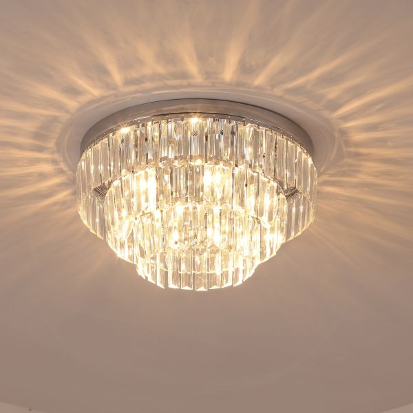 Round Crystal Chandelier with 7 lights