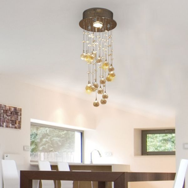 Elegant Crystal Raindrop Chandelier