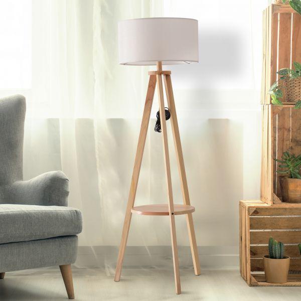 Free Standing Tripod Floor Lamp
