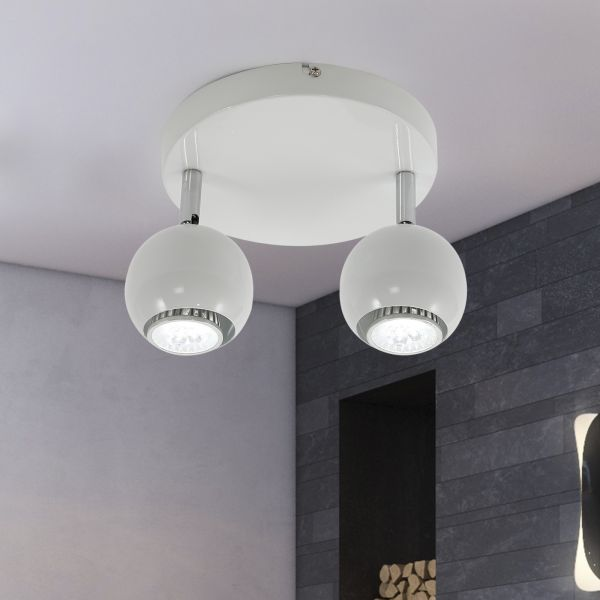 Ceiling Light Rotatable Pendant With 2 Arms