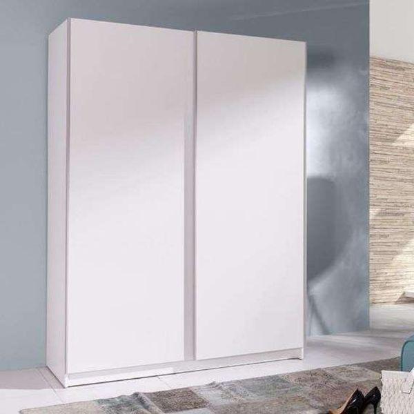 Batil 150cm Sliding Door Wardrobe - White