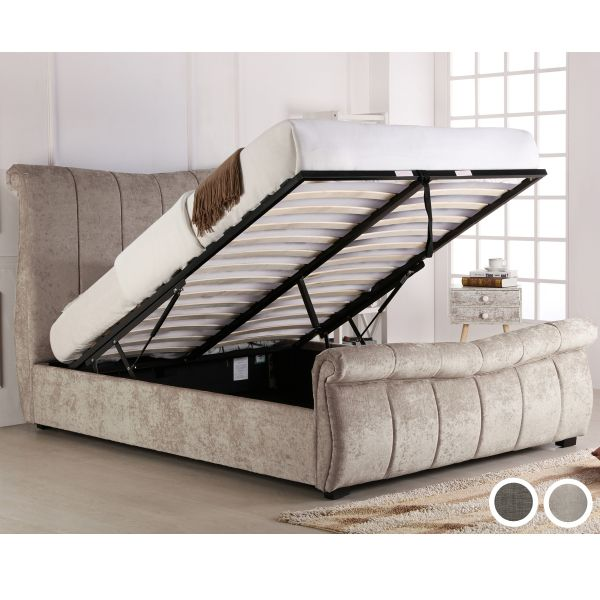 Bosworth Fabric Ottoman Bed Frame - King or Super King