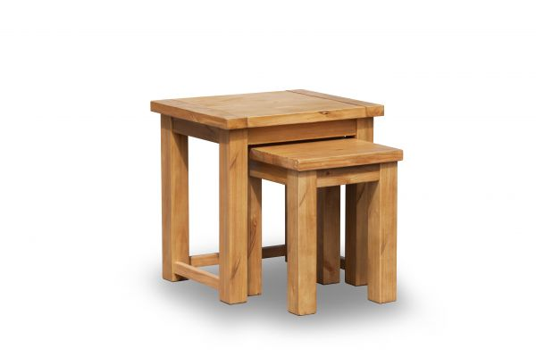 LPD Boden 2PC Nest of Tables - Pine