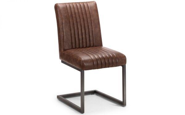 Julian Bowen Brooklyn Dining Chair - Antique Brown
