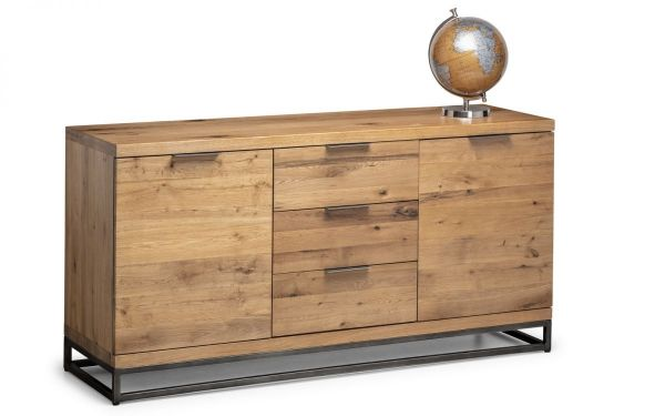 Julian Bowen Brooklyn Storage Sideboard - Oak