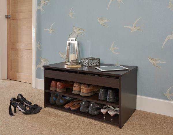 Budget Shoe Storage Cabinet - 4 Colours