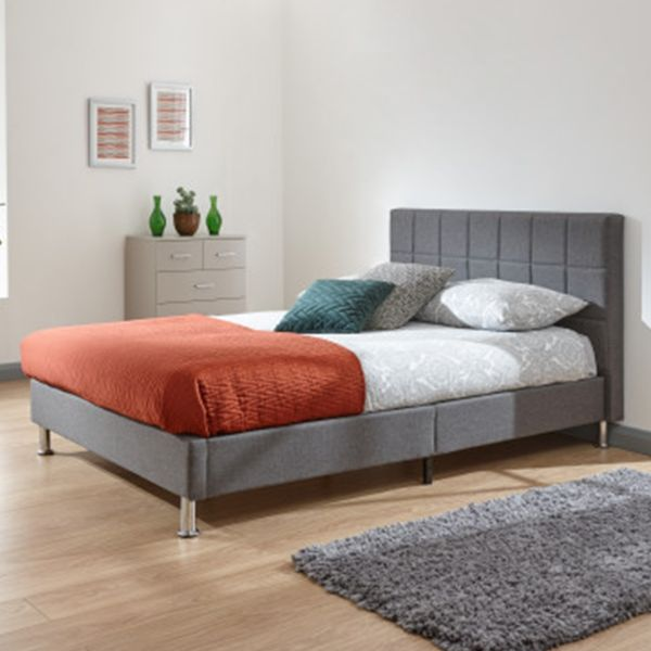Fresno 135cm Bed in a Box Grey