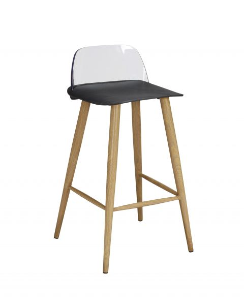 LPD Chelsea Bar Stools x2 - Black, Stone, Lime or White