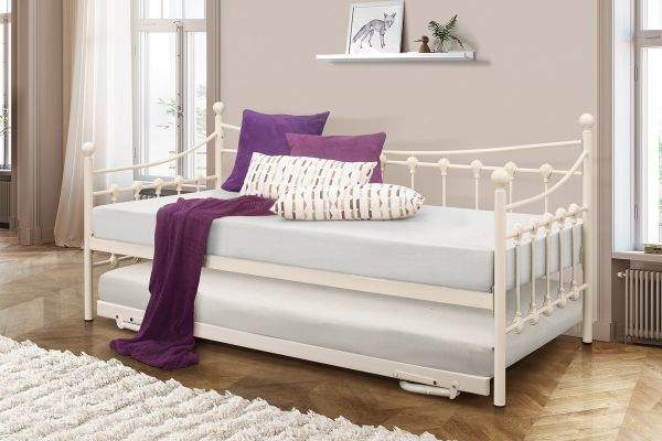 Birlea Chantelle Daybed & Trundle - White