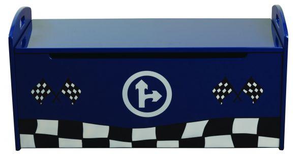 Sweet Dreams Formula Kid's Toy Storage Box - Red or Blue