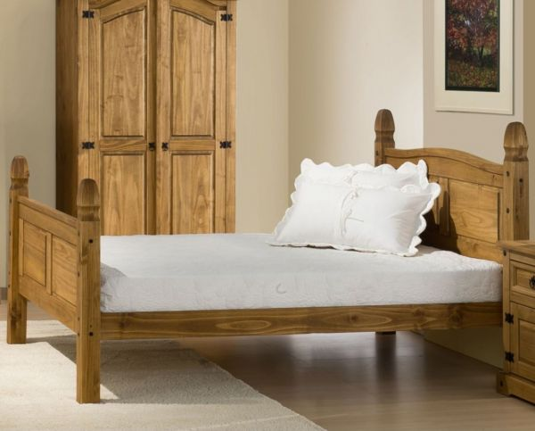 Birlea Corona High End Waxed Pine Bed Frame