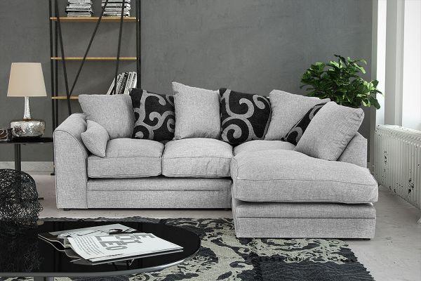 Dorota Fabric Corner Sofa Suite