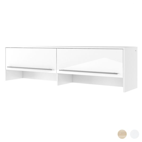Proton Horizontal Over Wall Bed Cabinet - 3 Sizes - 3 Colours