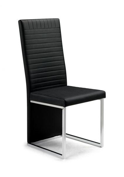 Julian Bowen Tempo Black Faux Leather Dining Chair