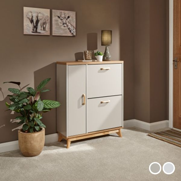 Nordica Shoe and Boot Cabinet - 2 Colours
