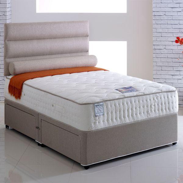Vogue Emperor Sprung Latex Ottoman Divan Bed 4FT6 Double - 1500 or 2000 Pocket