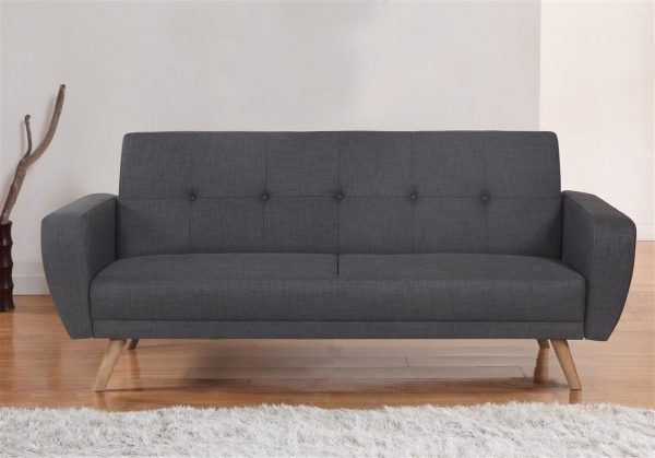 Birlea Farrow Large Grey Fabric Sofa Bed