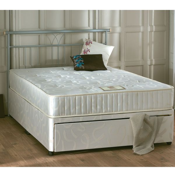 Vogue Enigma Ottoman Orthopaedic Sprung Divan Bed 5FT King