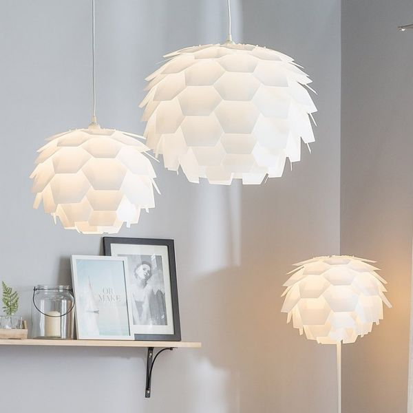 Serg Multifaceted Pendant Lamp - 7 Colours