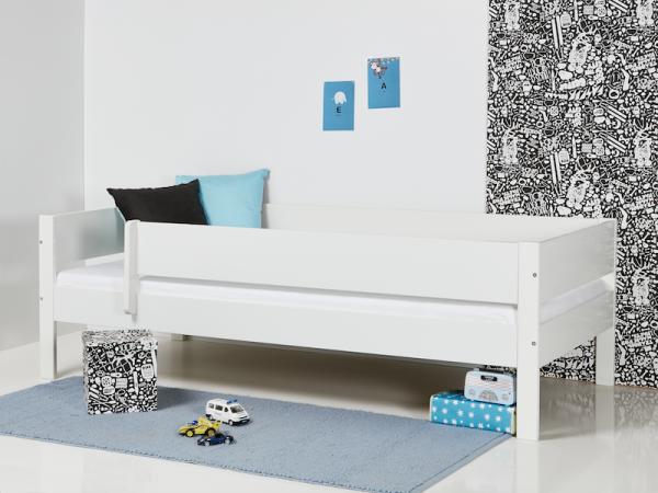 Hettie White Pine Single Bed