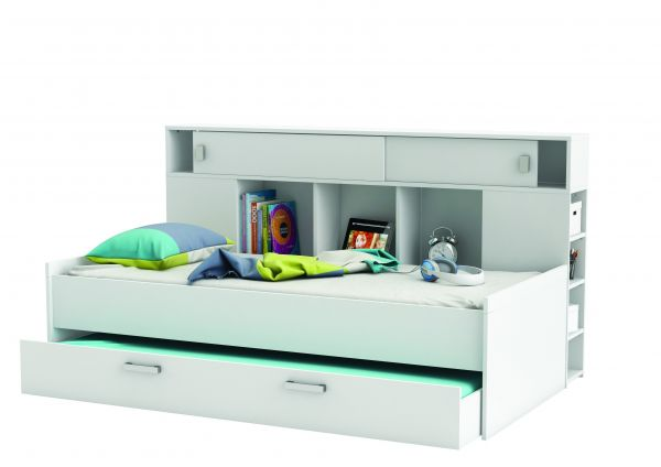 Sherwood White Storage Guest Bed