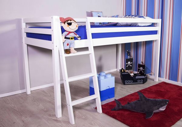 Taylor White Mid Sleeper Bed
