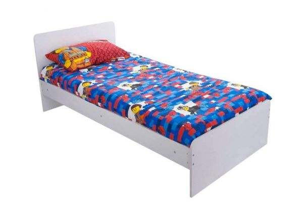 Wizard White 3ft Single Bed