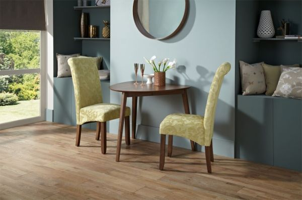 Guildford Half-Round Dining Table - Oak or Walnut