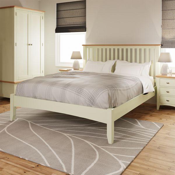 Luxury 5FT Kingsize Bed Frame - White