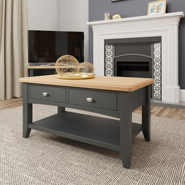 Juniper Large Coffee Table - Grey