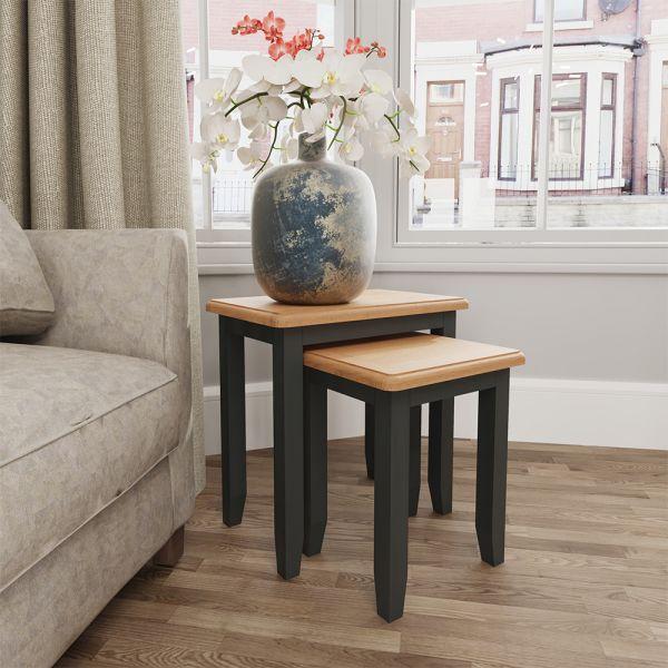 Juniper Nest of 2 Tables - Grey