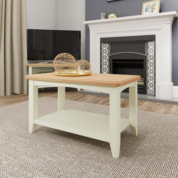 Luxury Small Coffee Table - White