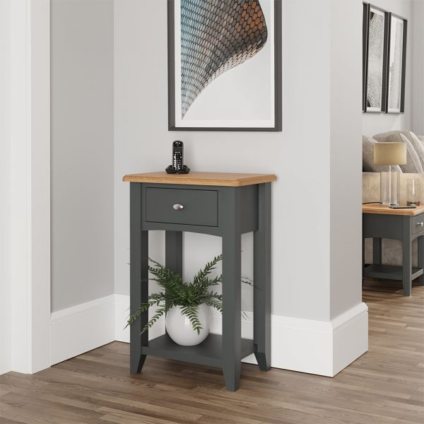 Juniper Telephone Table - Grey