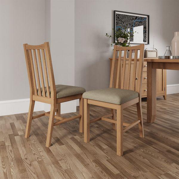 Ocado Dining Chair - Light Oak
