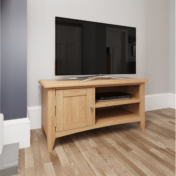 Ocado TV Unit - Light Oak