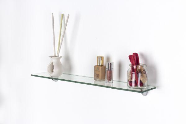 Pearl Glass Floating Display Shelf Kit - 2 Sizes