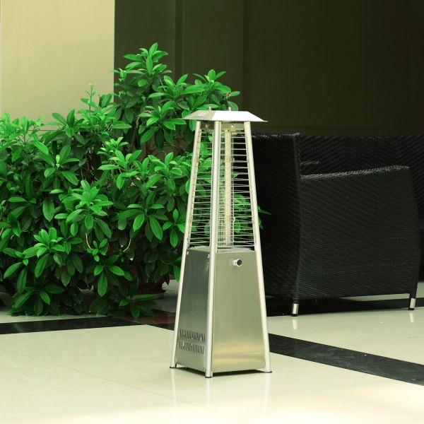 Outsunny 3KW Stainless Steel Outdoor Pyramid  Heater