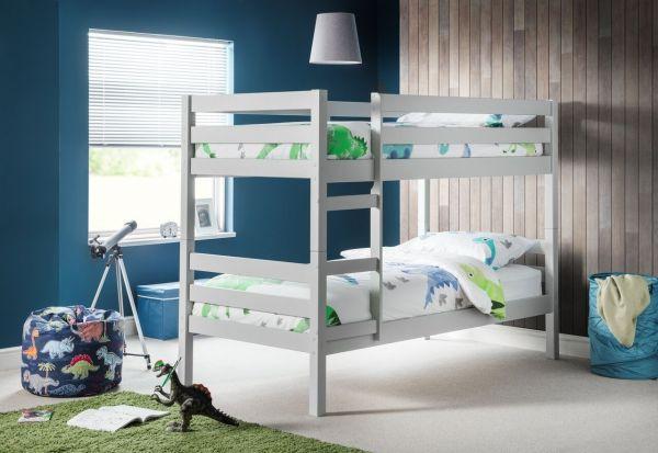 Julian Bowen Camden Dove Grey Bunk Bed