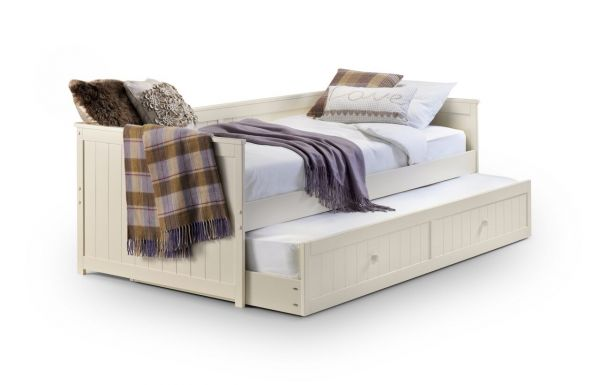 Julian Bowen Jessica Single Stone White Daybed & Trundle