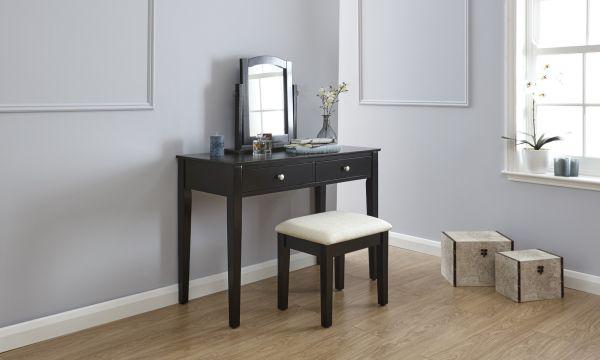 Hattie Dressing Table Set - Black, White or Grey