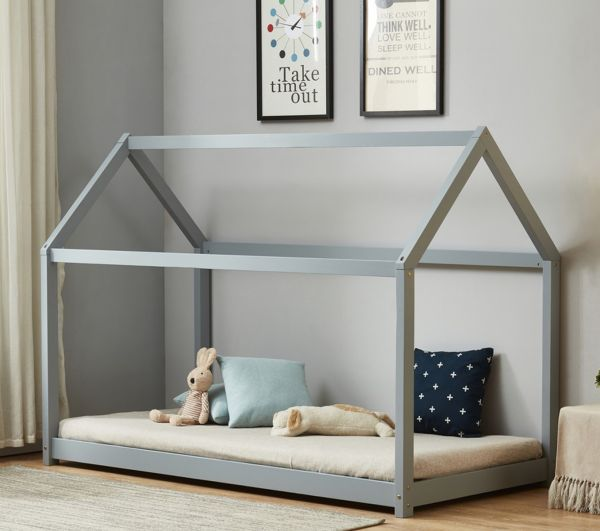 Birlea Kid's House Bed - White or Grey