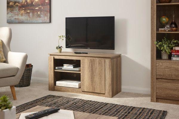 Canyon Grey Oak Compact TV Unit