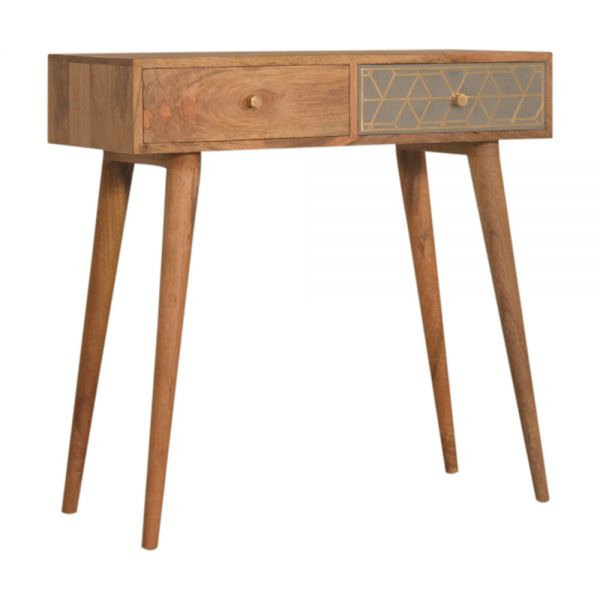 Dice Console Table