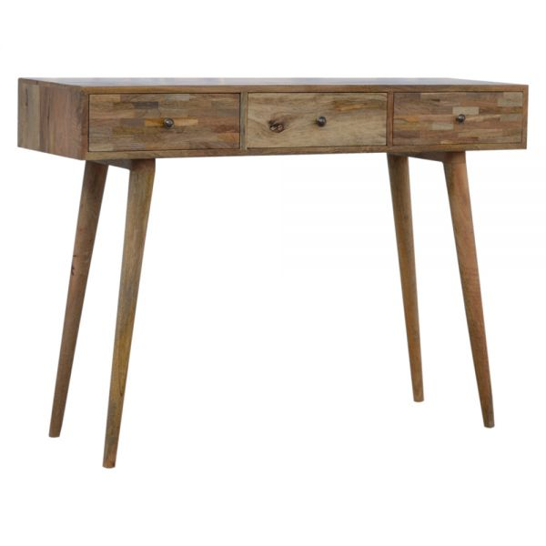 Patchwork Patterned Console Table