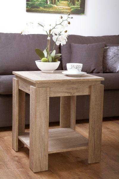 Canyon Grey Oak Lamp Table