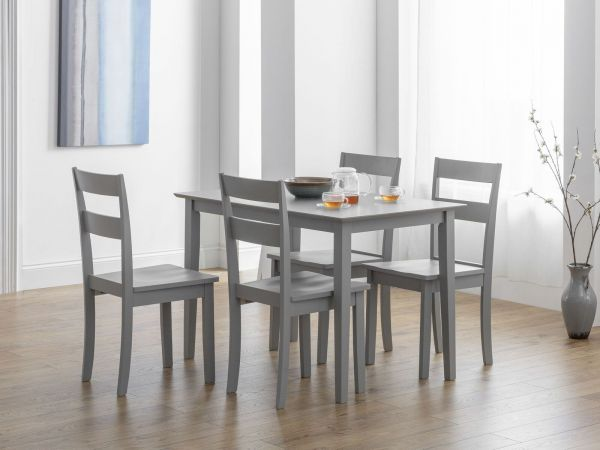 Julian Bowen Kobe Dining Chair - Grey