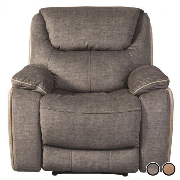 Sweet Dreams Langley Fabric Recliner Armchair - Fawn or Smoky