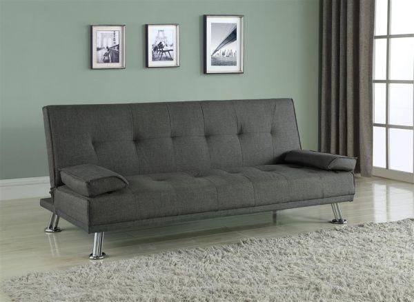 Birlea Logan Grey Fabric Sofa Bed